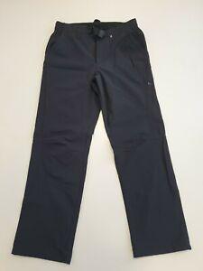 V197 WOMENS BERGHAUS BLACK STRAIGHT LEG SPORTS TROUSERS UK 10 M W28 L28