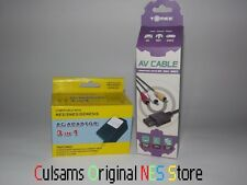 NEW SUPER NINTENDO SNES AC ADAPTER & AV AUDIO/VIDEO CABLES WITH 30 DAY GUARANTEE