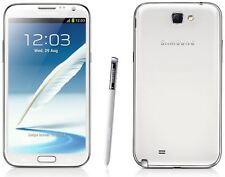 Neuf Samsung Galaxy Note 2 White 8MP Débloqué 16GB 4G LTE sans Abonnement