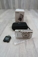 Canon PowerShot ELPH 180 Digital Camera, Silver