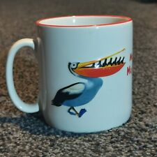 More details for official guinness mug - pelican turtle - my guinness my goodness embossed - rare