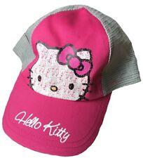 HELLO KITTY pour enfants Casquette Baseball 4 - 8 ans rose/gris