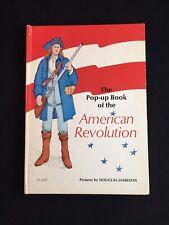 Vintage Pop-up Book on the American Revolution