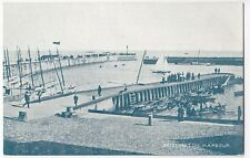 Yorkshire; Bridlington Harbour PPC, Unposted c 1910's By Photochrom