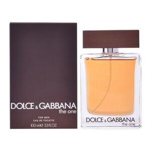 D&G THE ONE * Dolce & Gabbana for Men * 3.3/3.4oz (100ml) EDT Spray NEW & SEALED