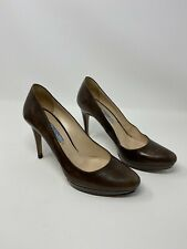 PRADA Shoes Round toe Pumps size 38 Brown