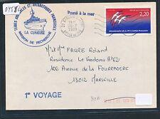 04556) Antarktis Frankreich Expedition SP ab Ajaccio 24.7.89