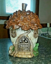 "Fairy Garden Miniature ""Acorn Fairy House Resin New"