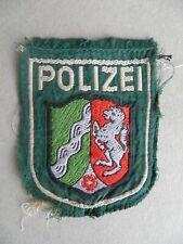 Älteres Polizei Stoffabzeichen Ärmelabzeichen