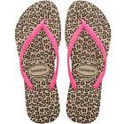 Havaianas Slim Tongs pour femmes FEUILLETER Chaussons Tongs Sandales à enfiler