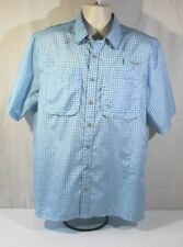 Pacific Trail Short Sleeve Size Large L Outdoor Fishing Hiking Vented