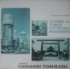 Giovanni Tommaso - Vivere A Tokio Città Del Paradiso OST LP Sonor Music Editions