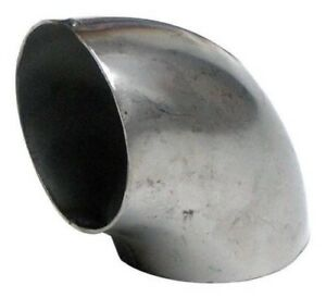 Jetex Universal Auspuff Eng 90 Grad Schweißen Bogen Edelstahl/Stahl