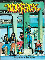 Wolfpack Marvel Graphic Novel unread 1st NM Larry Hama Ron Wilson GBX