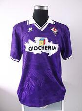 Authentic Fiorentina Home Football Shirt Jersey 1991/92 (XL)