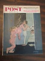 Saturday Evening Post March 22, 1958 Ordeals Of Execution Night