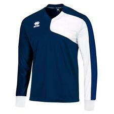 Errea Marcus à Manches Longues Football Jersey Bleu marine/blanc en taille XS