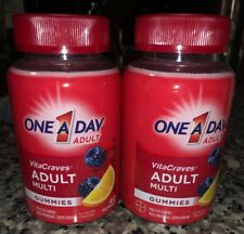 One A Day Adult Vitacraves Multi Gummies Gummy Vitamins 40 Ct (Bundle Of (2)