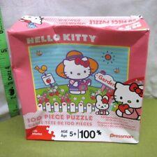 HELLO KITTY jigsaw puzzle Japan NWT anime gardening 2009 beat-up box Sanrio