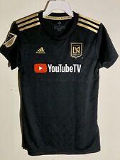 Adidas Women's MLS Jersey Los Angeles Los Angeles FC  LAFC Black sz M