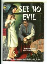 SEE NO EVIL by Welles, Original #710 sleaze Asian gga digest pulp vintage pb