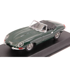 JAGUAR E TYPE SPYDER ENGLISH VERSION 1962 GREEN 1:43 Best Model Auto Stradali