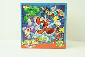 Marvel Spiderman and Friends puzzle
