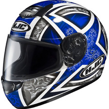 NEW HJC Motorcycle Helmet XL Yamaha blue Fibreglass Lighweight HJC Daggar Road