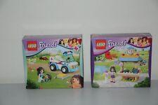 LEGO Friends 41098 Emma's Tourist Kiosk and 41086 Vet Ambulance (Free Shipping)