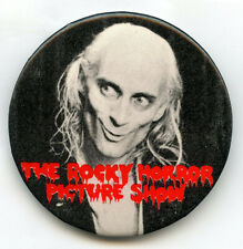 New ListingRiff Raff Rocky Horror Picture Show Vintage Pinback Button Film Pin Movie Bk633