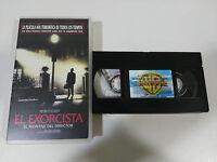 Il Esorcista Il Montaggio del Director Tape VHS Collezzionista Horror Friedkin