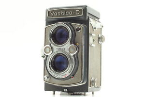 [Exc+5] Vintage Yashica-D TLR Film Camera From JAPAN