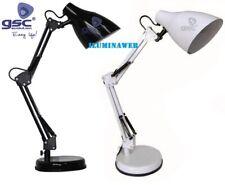 FLEXO GSC ARQUITECTO BASE NEGRO BLANCO LED 9w 2700-4000-6500k Lampara escritorio