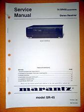 service manual marantz sr7200 av surround reciever