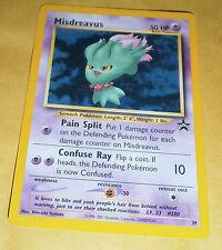 POKEMON BLACK STAR PROMO CARD - #39 MISDREAVUS