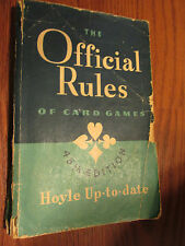 The Official Rules of Card Games; 45th Ed 1947 Hoyle Up-To-Date