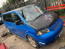 2006 VW TRANSPORTER T5 T30 2.5 TDI LWB SHUTTLE CAMPER DAY VAN DAMAGED REPAIRABLE