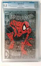 Spider-Man #1 Silver Edition CGC 9.8 McFarlane 1990 key near mint