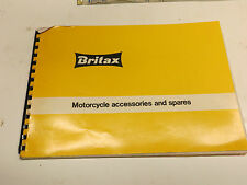 BRITAX ORIGINAL MOTORCYCLE SCOOTER DEALER CATALOGUE LAMBRETTA NORTON ARIEL
