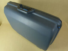 Samsonite Hardshell Rigid Grey Suitcase Luggage Case Combination Lock Very Good