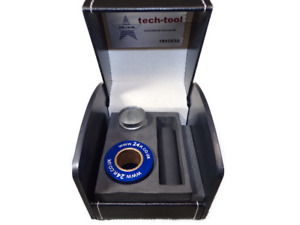 Optical center Punch C/W wide lens & low clearance for increased accuracy