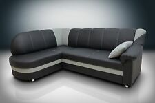ECO LEATHER, NEW SOFA BED CORNER BINGO, SPRINGS INSIDE, MODERN, ELEGANT!