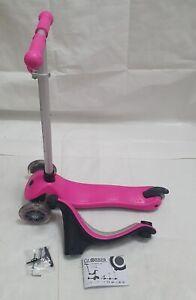 Globber Kinder EVO in mit Licht bis Rädern Scooter deep pink, Rechnung V11010