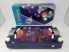Vintage 1997 Natural Wonders Asteroid Air Hockey Tabletop Game w/ Box WORKS Rare