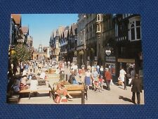 Chester, Pedestrian Way, Eastgate Street - Old Picture Postcard 1989