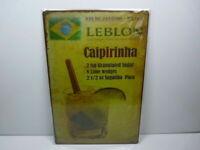 PA57F PLAQUES TOLEE vintage 20 X 30 cm : Cocktail CAIPIRINHA Brésil