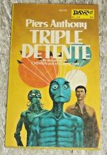 Piers Anthony, TRIPLE DETENTE, Vintage 1974 Science Fiction PB, DAW #118