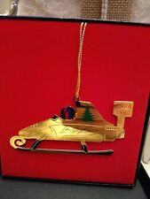 Arie Luyendyk Indy 500 Winner Designed 1998 CARA Christmas Ornament Indy 500