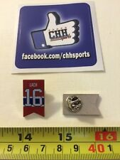 Montreal Canadiens Retired Banner Pin - Épinglette Elmer Lach #16 Jersey Habs
