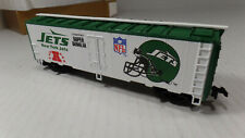 MANTUA HO SCALE 1991 New York Jets , NFL SUPER BOWL BOX CAR